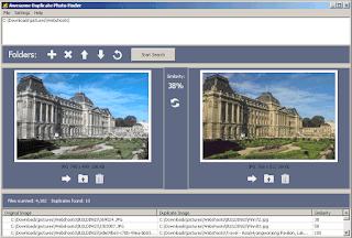 برنامج البحث عن الصور المكررة