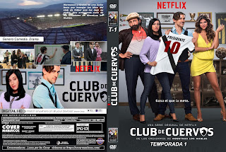 CLUB DE CUERVOS TEMPORADA 1 – 2 – 3 – 4 2015 – 2019 [COVER – DVD]
