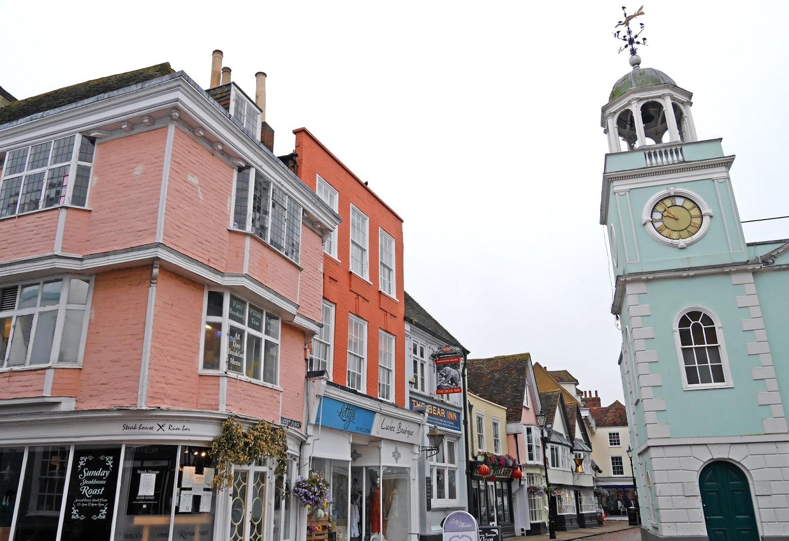Faversham market place, Kent