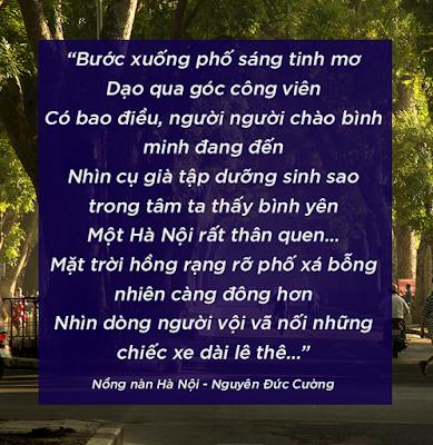 Nồng nàn Hà Nội - Nguyễn Đức Cường