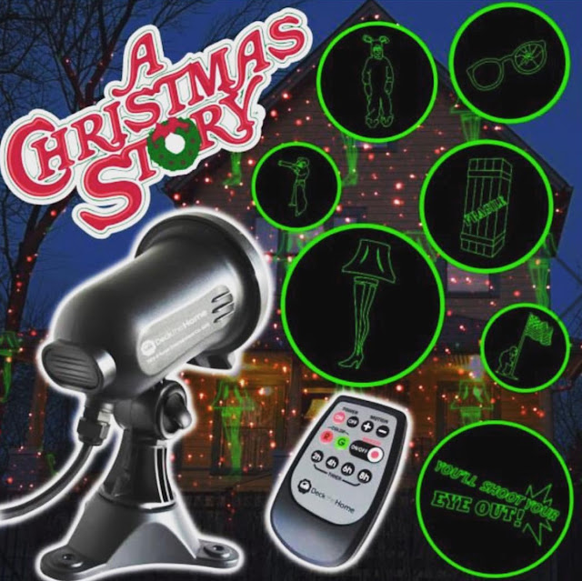 "Home ""A Christmas Story"" Laser Light Projectors"