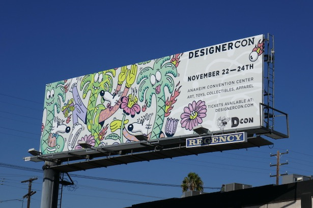 DesignerCon 2019 billboard