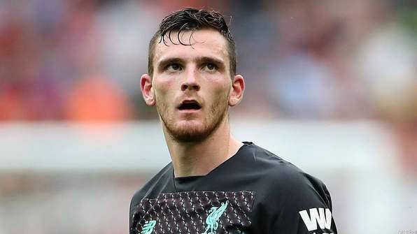 Andy Robertson Might Miss Napoli Clash in Champions League Due to Injury