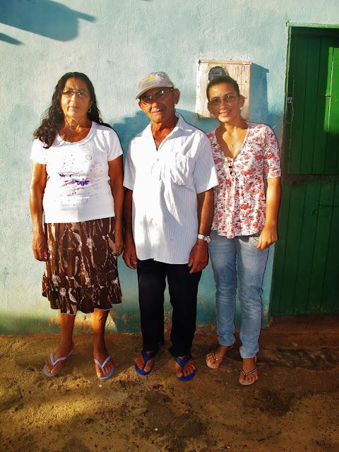 Nativos de Tatajuba em experiência de Turismo Comunitário na vila de Tatajuba