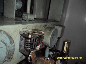 Pressure switch sea water