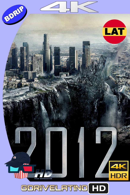 2012 (2009) BDRip 4K HDR Latino-Ingles MKV
