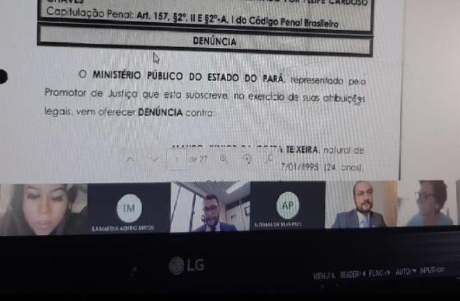 Vítima de assalto no Pará prestou depoimento sobre o crime em Portugal, onde reside