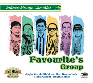 The Favourites Group - Mawar Berduri ( Karaoke )