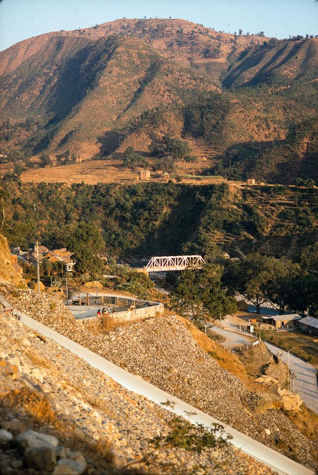 old image of Nuwakot , Trishuli