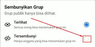Cara Agar Grup Tidak Ditemukan Di Pencarian Facebook