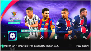 Download eFootball PES 2021 PPSSPP Season Update Chelito V2/V7 Best Graphics Camera PS5 & English Commentary