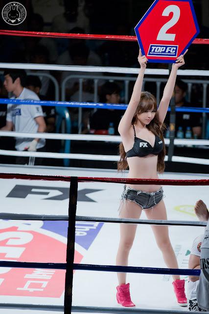 Lee Eun Hye 이은혜 Top FC Images 04