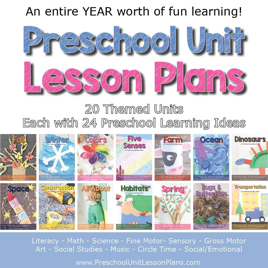 Preschool Unit Lesson Plans