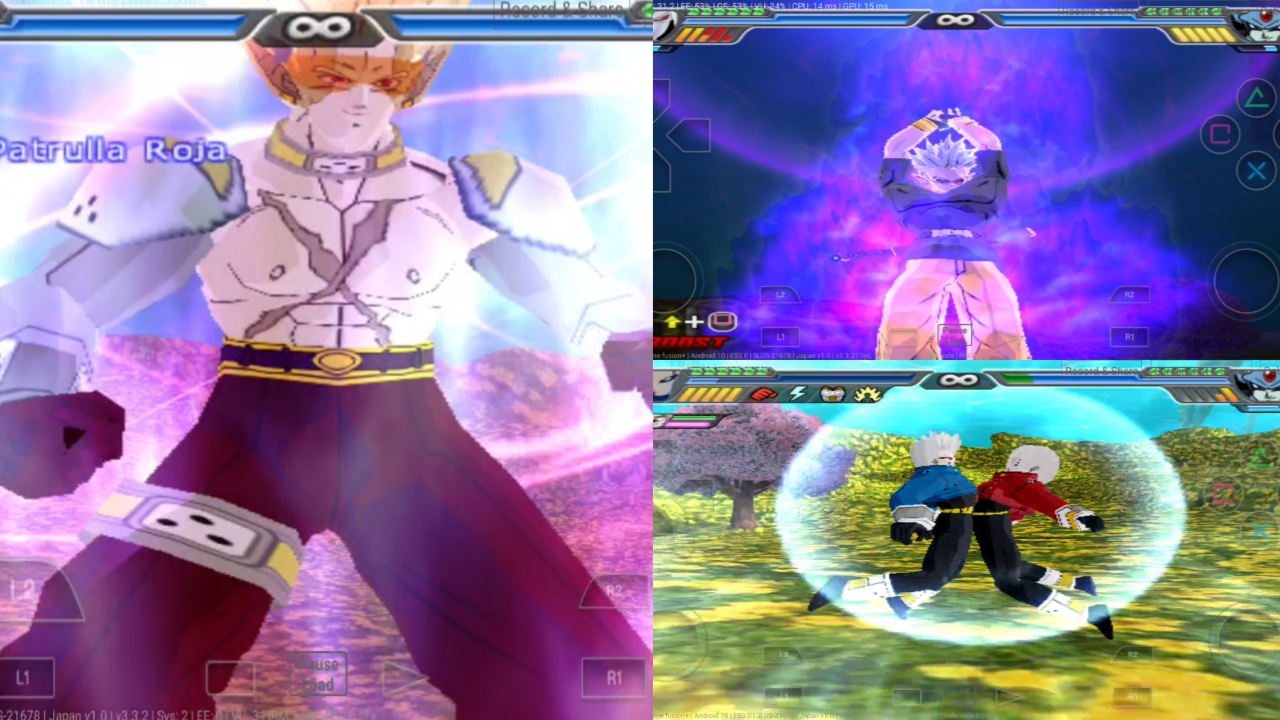 Dragon Ball Heroes DBZ BT3 MOD PS2