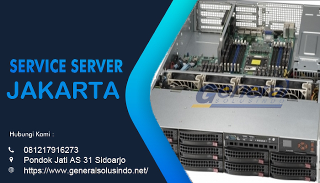 Service Server Jakarta Resmi dan Profesional