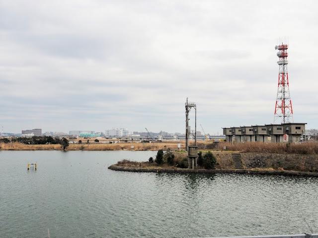 旧江戸川 篠崎水門 江戸川放水路