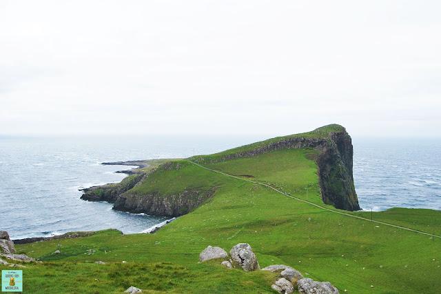 Neist Point, isla de Skye (Escocia)