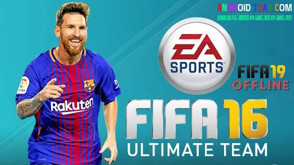 FIFA 16 Mod FIFA 19 APK+ OBB+ DATA  For Android