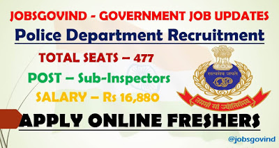 Police Department Recruitment 2021