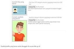 Apa Itu Swafoto CPNS 2021? Contoh Swafoto yang Benar dan Ketentuan Unggah di sscasn.bkn.go.id