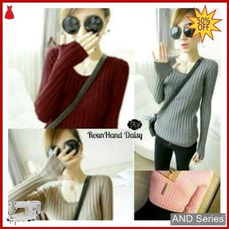 AND248 Sweater Wanita Daisy Roundhand Murah BMGShop