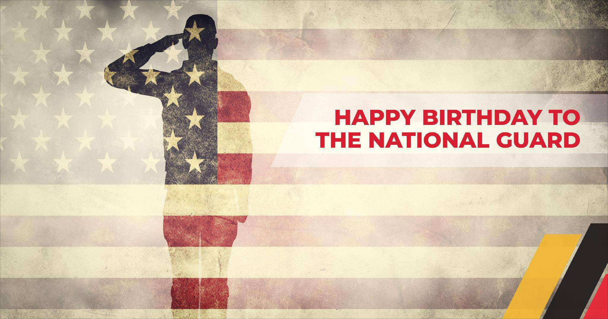 U.S. National Guard Birthday Wishes For Facebook