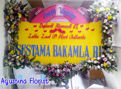 bunga-papan-wedding