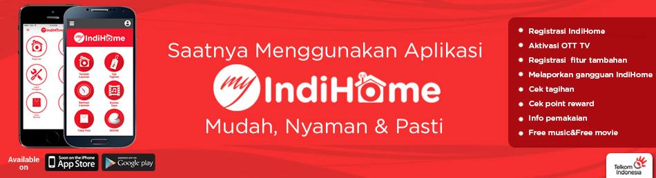 My IndiHome, Cek Tagihan Internet Telkom IndiHome di HP Android