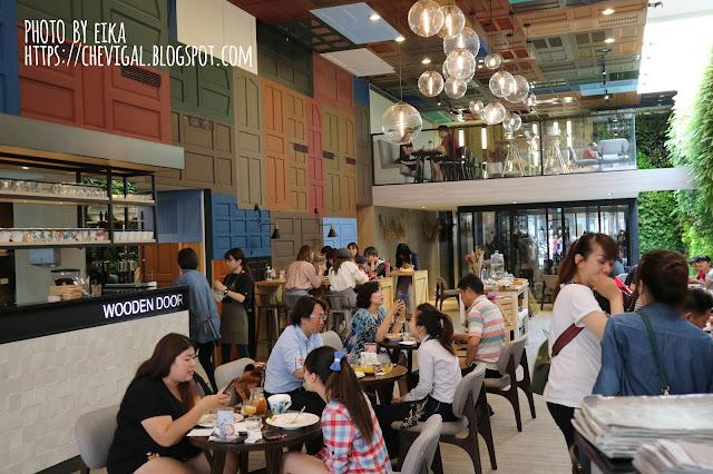 IMG 0605 - 【台中南屯】木門咖啡 Wooden Door*與大自然結合的咖啡廳。清新味蕾的觸動與綻放