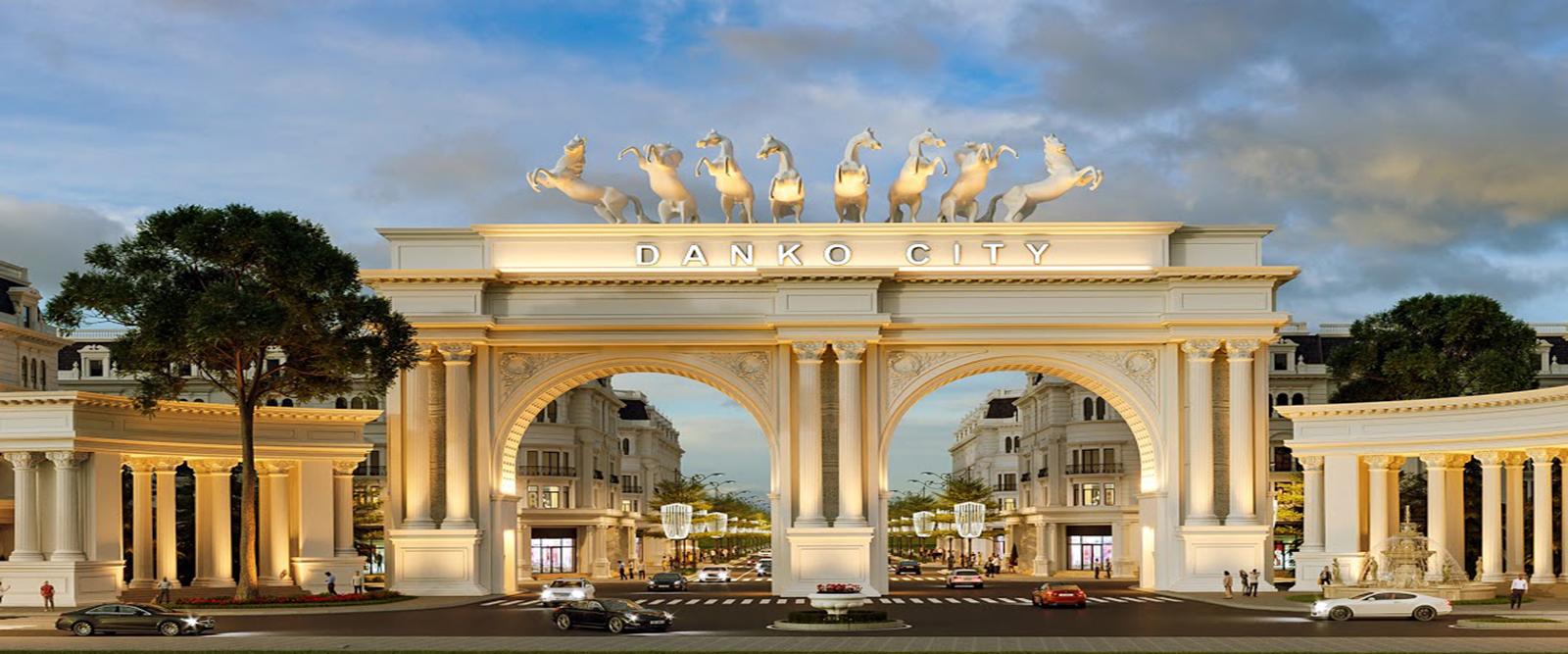 Cổng dự án Danko City Thái Nguyên