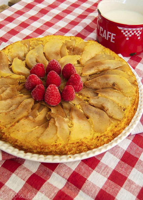 Tarta de pera saludable #sinazucar #singluten #sinlactosa #realfood