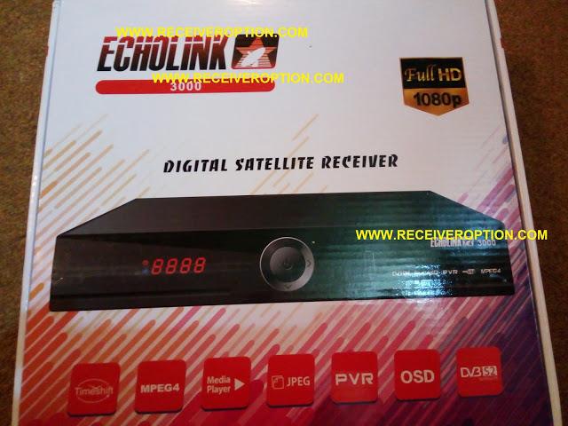 ECHOLINK 3000 HD RECEIVER TEN SPORTS OK NEW SOFTWARE