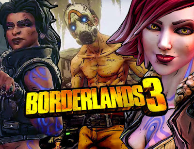 new Guardian Game endgame, motion enhancing artifacts, the Gaming Show, Borderlands 3 contains multiple vaults, The Borderlands 3, video games 2019, PC Gaming Show on E3 2019, new Borderlands 3 details while viewing,