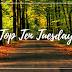 #1 Top Ten Tuesday: Diez libros situados fuera de EE.UU