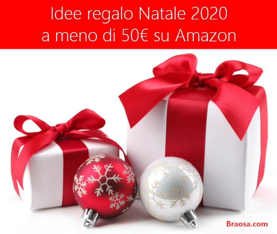 Idee Regalo Natale 2020 a meno di 50 euro su Amazon