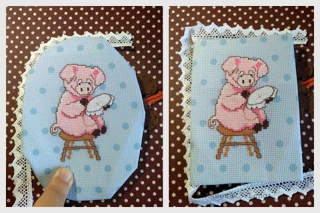 Свинка-вышивальщица от Чаривны Мить