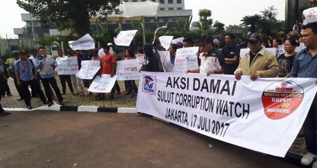 Astaga...!!! SCW Sebut Dugaan Korupsi Di Sulut Capai Triliun