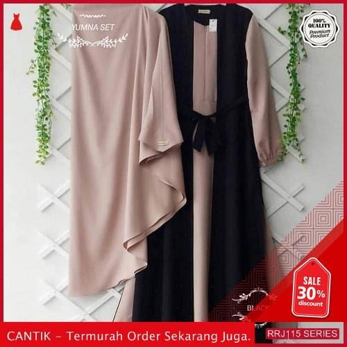Jual RRJ115D133 Dress Muslim Yumna Wanita Set Syari Sk BMGShop