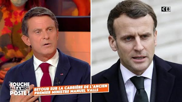 """Manuel Valls sur la montée au pouvoir d'Emmanuel Macron : """"J'ai eu le nez très creux...!"""""""