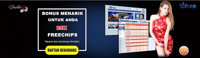 FreeChips 25k Untuk Produk MR8Asia Dari Insta88