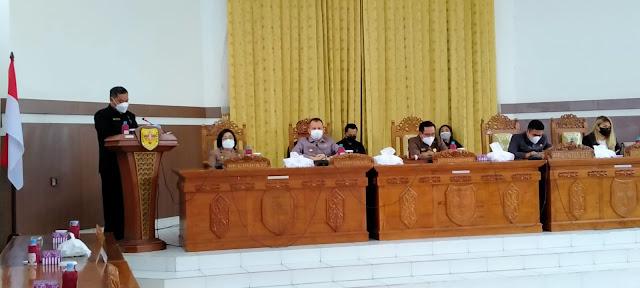 Dewan Sampaikan Pandangan Terhadap LKPJ Pekab Gumas