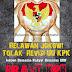 Relawan Jokowi  # Tolak Revisi UU KPK