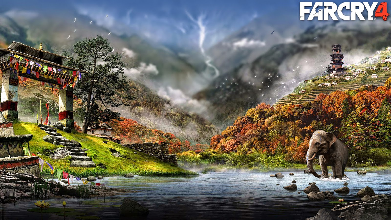 Far Cry 4 1080p wallpaper