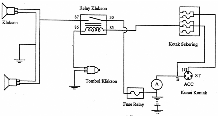 wiring lampu kepala mobil car wiring diagrams explained u2022 rh justinmyers co wiring diagram lampu kepala mobil