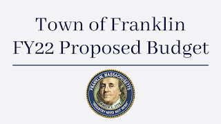 FY 2022 - Town of Franklin budget