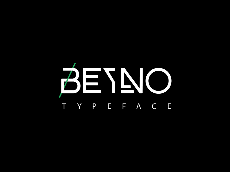 The FREE Beyno Typeface