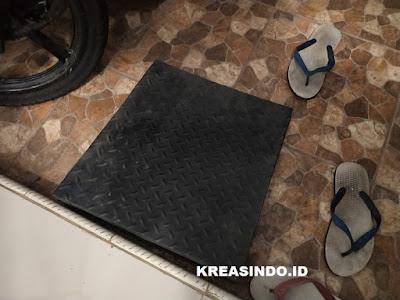 Keamanan Untuk Naikin Motor kedalam Rumah