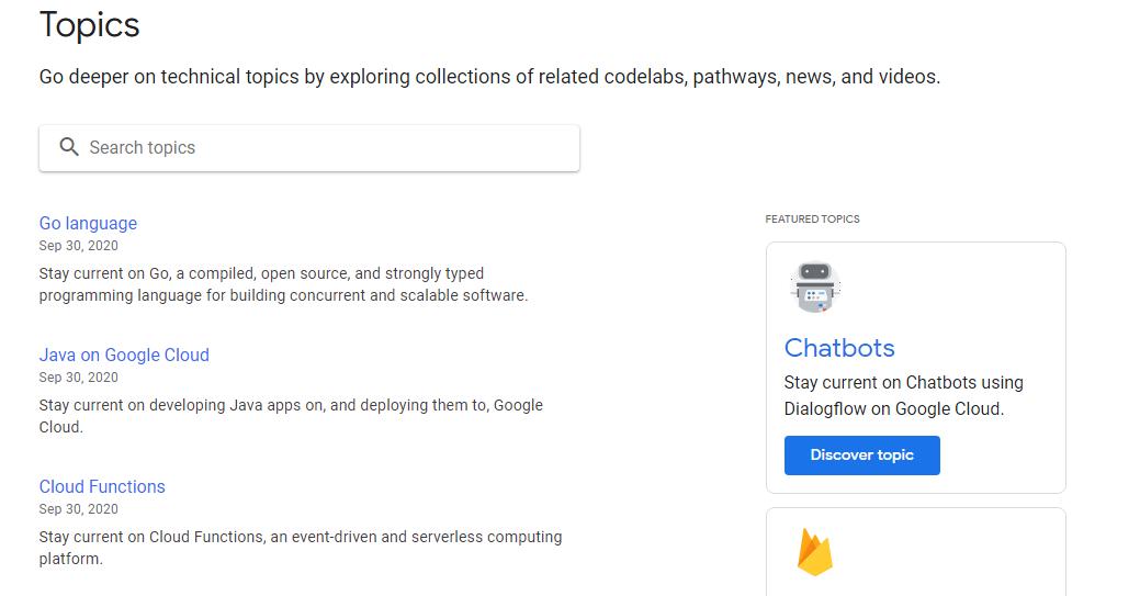 منصات من جوجل موجهة للمطورين لا يعرفها الكثيرون