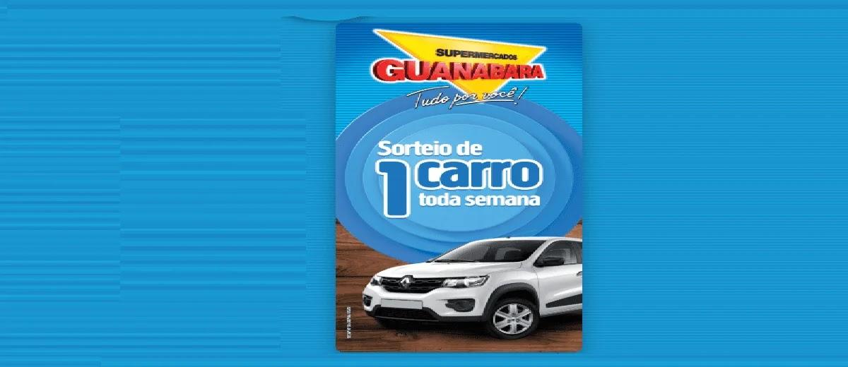 Promoção Guanabara 2020 Carro Toda Semana Sorteio Semanal - Supermercados