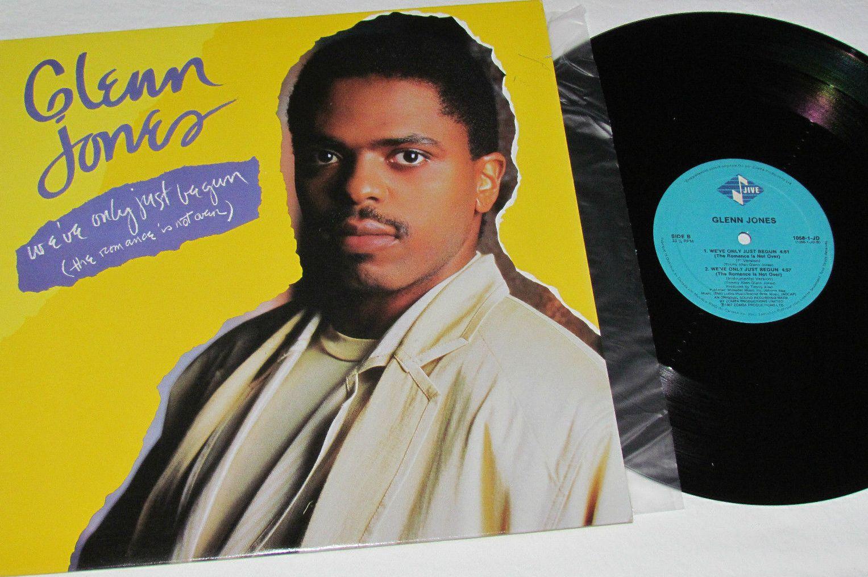 NJ4Life: Glenn Jones – We've Only Just Begun (The Romance Is Not Over) (VLS) (1987)